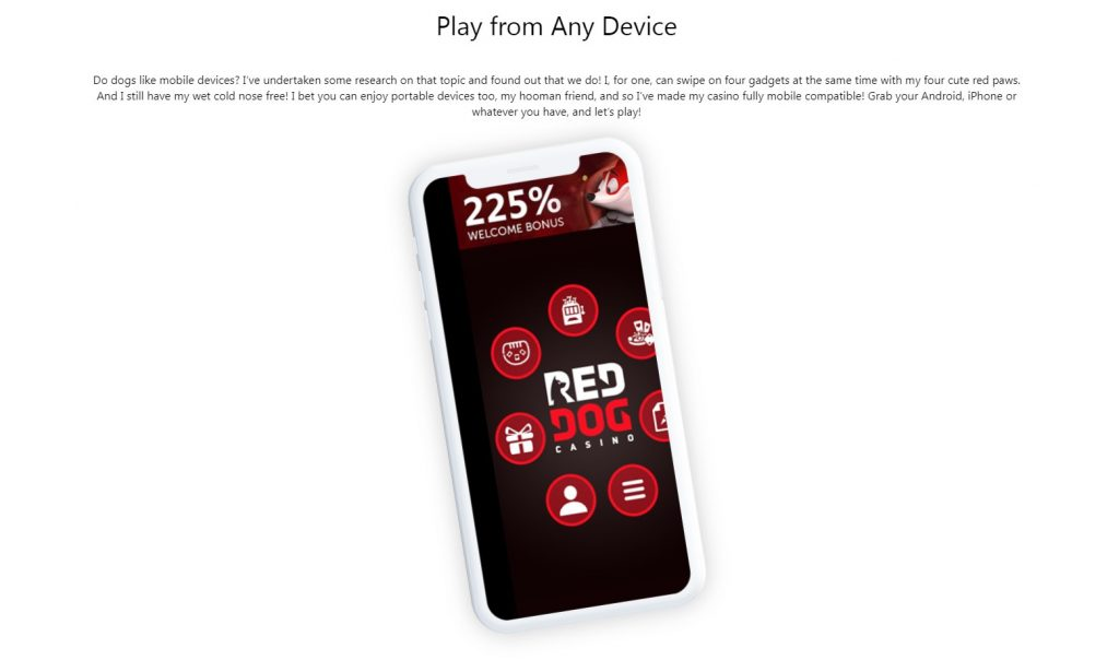 Red Dog Mobile App